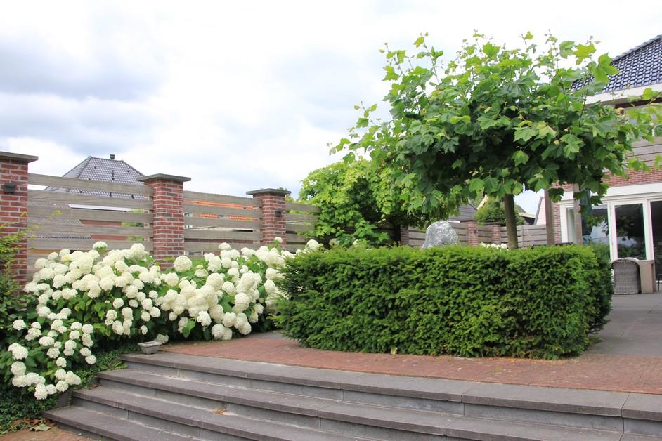 Moderne villatuin in De Goorn