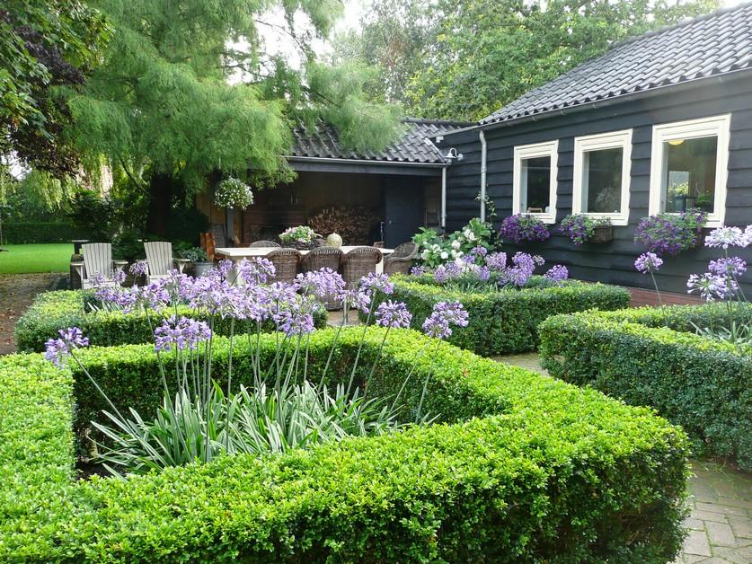 Moderne klassieke tuin