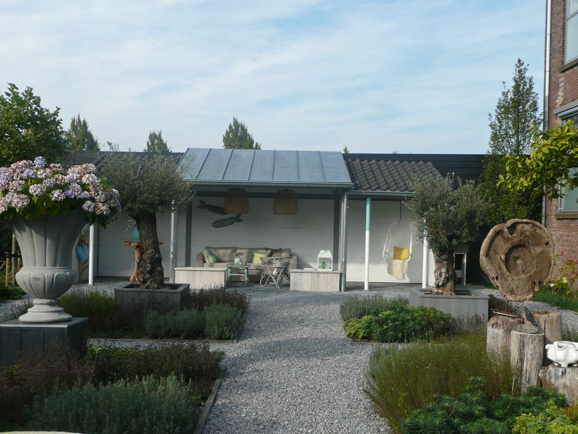 Mediterrane tuin woonwinkel